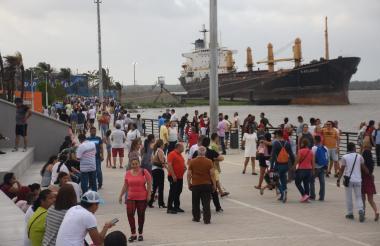 Más de 2 millones de personas han visitado el malecón desde su funcionamiento.