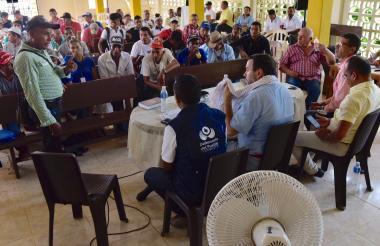 La alerta advirtió una mayor actividad armada en los municipios de Morales, Arenal, Norosí, Tiquisio y Montecristo.
