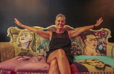La coreógrafa cubana Marianela Boán, directora de la compañía DanzAbierta.