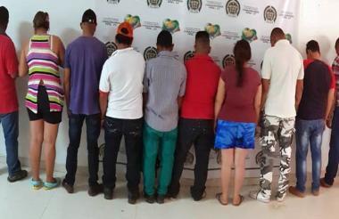 """Doce integrantes del """"Clan del Golfo"""" fueron capturados por las autoridades, en el marco del """"Plan Diamante"""""""