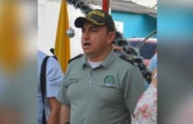 El excomandante de la Policía en Soledad y Malambo, el mayor Hermes Martín Arellano Chamorro.