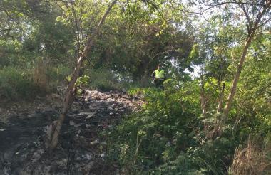 En este sitio de Villa Rosario las autoridades adelantan las indagaciones.