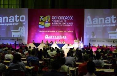 Congreso de Anato realizado el año pasado en el Puerta de Oro de Barranquilla.