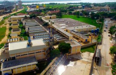 Acueducto de Barranquilla.
