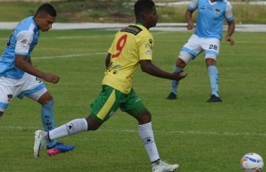Acción durante el juego.