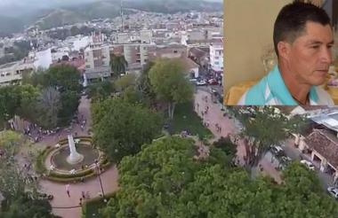 Alirio Arenas Gómez de 45 años era presidente de la Junta de Acción Comunal de la vereda San Isidro.