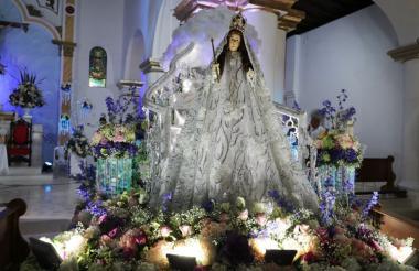 El 8 de septiembre es el día de la fiesta patronal de la Virgen del Socorro en Sincé.
