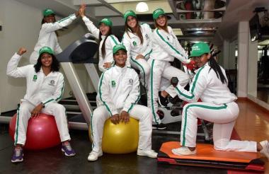 Deportistas que hacen parte del 'Team Barranquilla'.