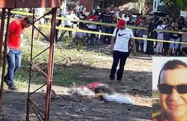 El cuerpo de Jesús Mejía Herazo fue hallado en el barrio La Popa.