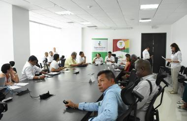 Aspecto del encuentro que se realizó en Cartagena.
