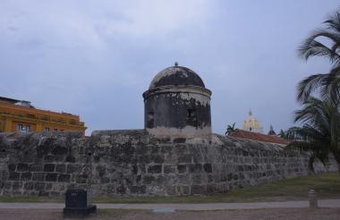 Vista de las murallas de Cartagena.