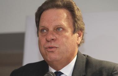 Ramón Jesurún, presidente de la Federación Colombiana de Fútbol.