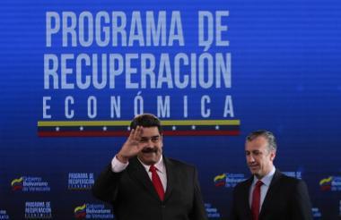 Maduro en un foro realizado este miércoles.