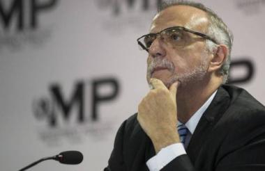 Velásquez, jefe de la Comisión contra la Impunidad.