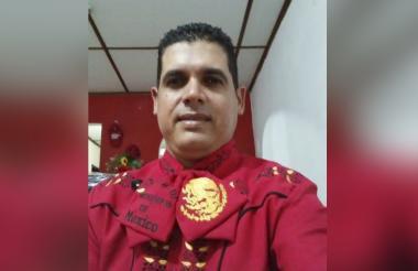 Richard David Figueroa, mariachi venezolano.