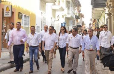 Una cumbre de gobernadores en Cartagena.