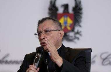 Monseñor Óscar Urbina, presidente de la Conferencia Episcopal de Colombia.