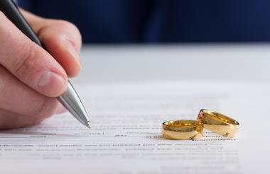 El 12% de los encuestados en la Región dijo estar divorciado legalmente.
