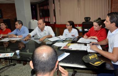 El comité penitenciario se reunió en la Gobernación.
