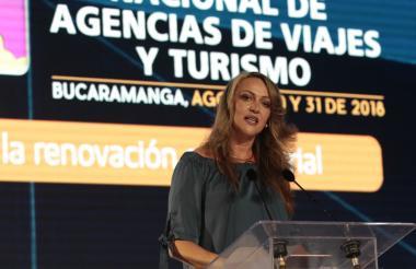 La presidenta de Anato, Paula Cortés Calle.