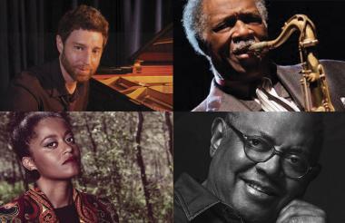 Benny Green, pianista estadounidense, Houston Person, saxofonista estadounidense,  Sara Tavares, compositora y cantante portugués y  Pablo Milanés, cantante de baladas y boleros.