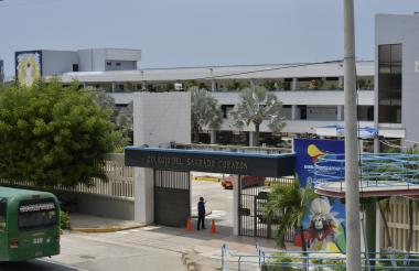 Vista del colegio.