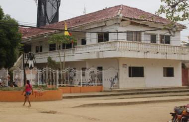 Sede de la alcaldía de María La Baja.