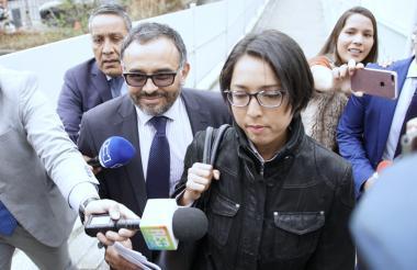 July Milena Henríquez, contratista de la JEP.