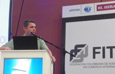 Juan Carlos Buitrago, director de la Policía Fiscal y Aduanera.