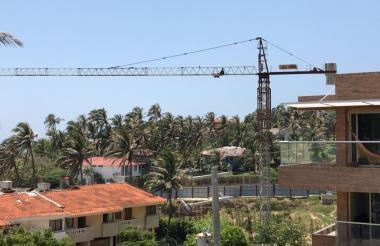 Según los vecinos las obras fueron suspendidas hace más de tres años.