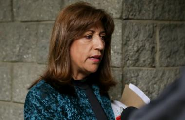 Martha Lucía Zamora, exsecretaria de la JEP.