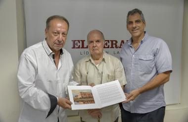 Adlai Stevenson, Rodolfo Zambrano y Enrique Yidi.