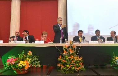 El presidente Duque interviene en el Congreso Nacional de la Confederación General del Trabajo (CGT)