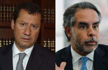 Jaime Lombana y el congresista Armando Benedetti.