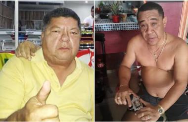 Fabio Alberto Hernández Sierra y Roberto Carlos Flórez De Moya, capturados por las autoridades en redada contra el chance ilegal.