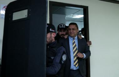 Guatibonza llega al complejo judicial de Paloquemao.