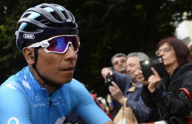 Nairo Quintana se ubicó octavo en esta edición de la Vuelta a España.