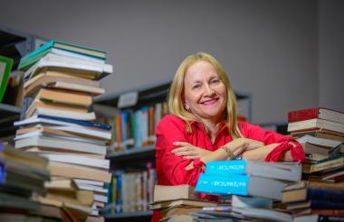 Alba Pérez del Río, escritora y periodista barranquillera.
