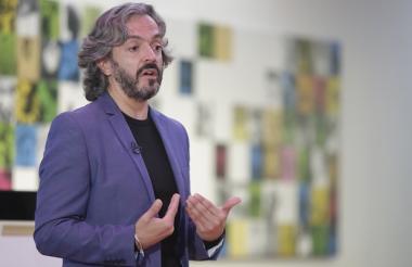 Juan Oviedo, director del Departamento Administrativo Nacional de Estadística.