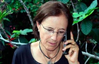La periodista española Salud Hernández
