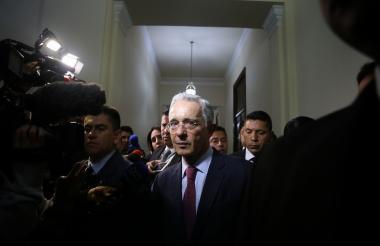 Expresidente Álvaro Uribe, senador del Centro Democrático.