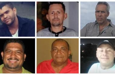 Taxistas asesinados.