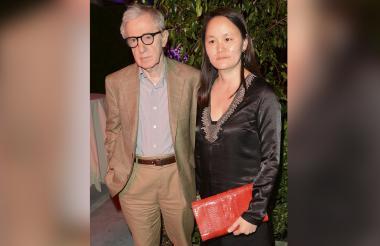 Woody Allen y su esposa Soon-Yi Previn.