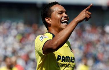 El porteño Carlos Bacca viene de anotar en la Liga.