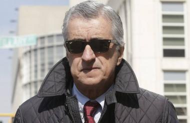 Miguel Murillo, colombiano suspendido.