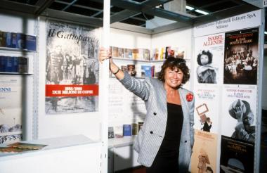 Inge Feltrinelli, presidenta de la editorial italiana Feltrinelli.