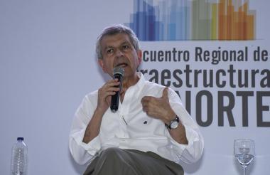 El presidente de la CCI, Juan Martín Caicedo.