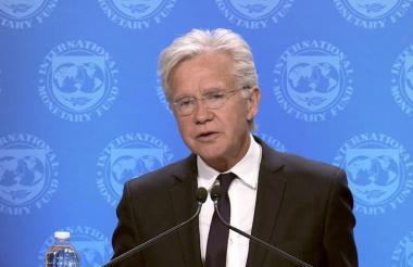 Gerry Rice, vocero del FMI, reconoce el acuerdo.