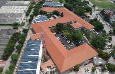 Edificio de oficinas de Promigas en Barranquilla.