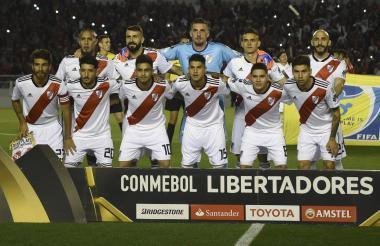 River Plate cuenta con dos colombianos, el barranquillero Rafael Santos Borré y el antioqueño Juan Fernando Quintero.